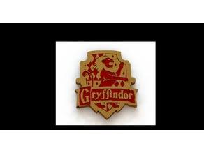 Gryffindor Crest (Dual Extrusion)