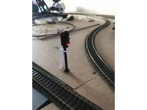 train signal 1:87 scale