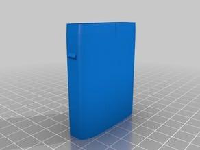 Flat pill box