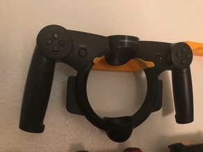 Playstation Move Racing Controller Wall Mount