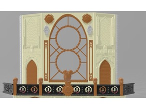 Cathedral Large Bay Window and Upper floor - WH40k