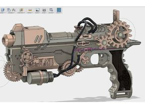 Evelyne  - The steampunk gun