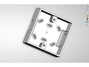 Подрозетник для квадратных китайских розеток, выключателей