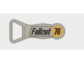 Fallout 76 Small Bottle Opener