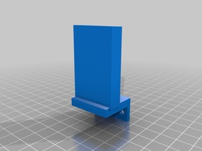 Blue Tape Hook for Monoprice Mini Delta