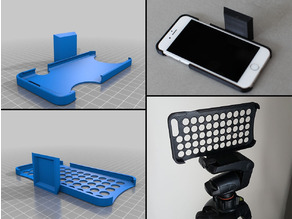 Tripod Mount for iPhone 6, 6 Plus & Samsung Galaxy S7 Edge
