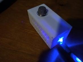 ESP 8266 wall mount radar motion & smoke sensor case