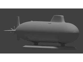 "Project 885 Yasen Class Submarine (NATO Codename: ""Sevrodvinsk"")"