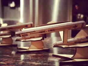 Remix of Laser Cut Star Trek Enterprise