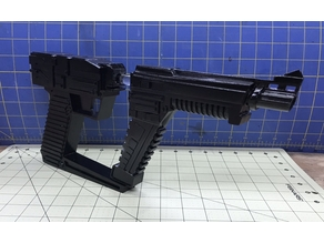 Visitor Laser Pistol v02