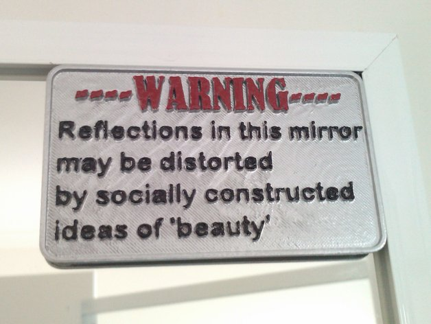 Positive Body Image Mirror
