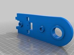 Replacement endplates for Borlee/Duinotech 3D printer