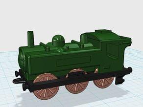 Matchbox Train - Toy Locomotive