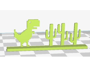 Google Chrome T-Rex Monitor Bling
