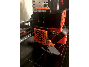Prusa i3 MK3 Hotend Fan Cover/Grille (for black fan without rubber corners)