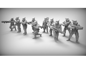 GUARD DOGS x10 28mm (RESIN)