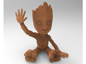 baby groot hollow