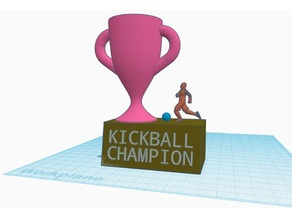 Kickball Champion Trophy