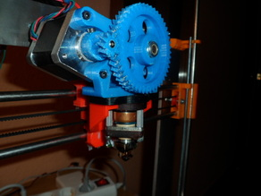 Prusa i3 support for Gregs-Wade-Kuheling Extruder