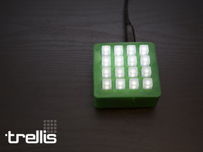 Trellis Box - Enclosure for Adafruit Trellis 4x4 Keypad