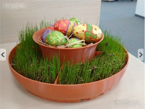 Easter Decoration Pot