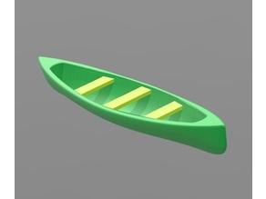 Canoe H0 scale remix