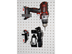 Pegboard mount for Black&Decker Matrix Drill set