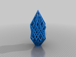 Ultra Customized Lattice Cube Sculpture