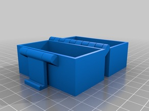 My Customized Buckle Box, Printable In One Piece