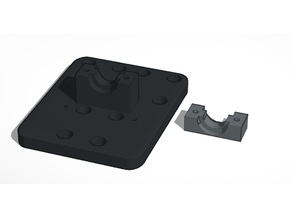 E3D V6 Extruder Mounting Plate for Anet A8