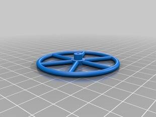 Landingwheel for Foamie/Depron model RC Planes