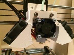 Prusa i3 rework bowden mount E3D-v6