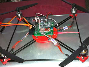 QuadCopter Frame Parts
