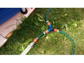 37mm pool hose to gardena adapter