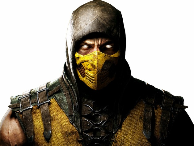 Scorpion Mask Mortal Kombat X By Micjwelch Thingiverse
