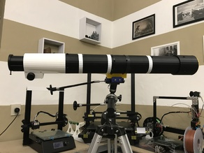 Full 3D print telescope