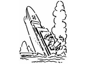 Titanic stencil