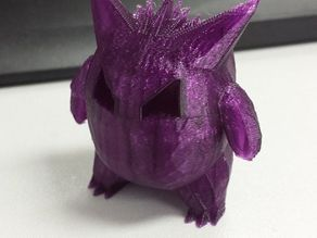 Low_Poly_Gengar