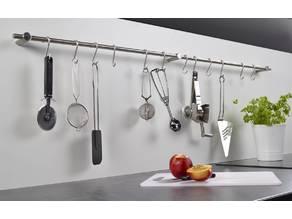 Küchenstangen halter