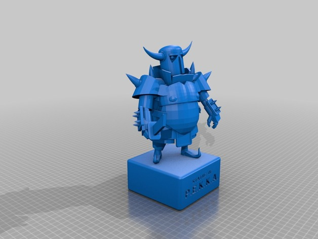 Statue Of P E K K A  by MasterTH - Thingiverse