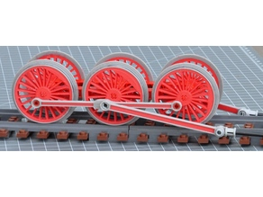 customizable train wheel for LEGO