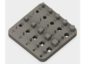 3D print test model 1