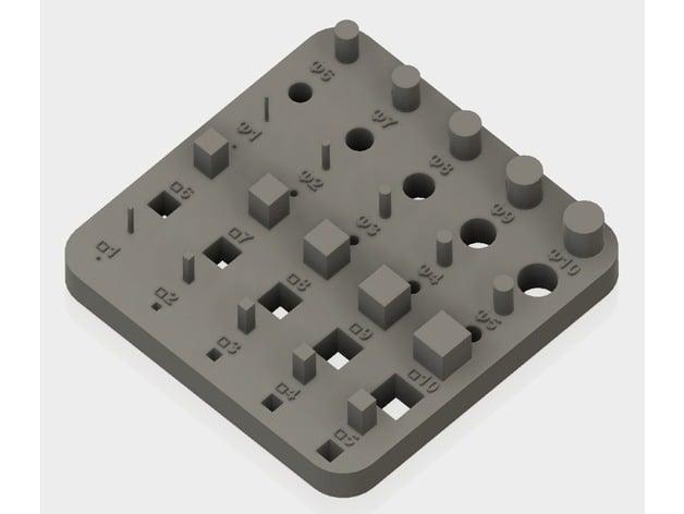 3d print test model 1 by ban06 thingiverse. Black Bedroom Furniture Sets. Home Design Ideas