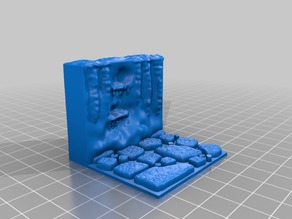 Cavern Tiles 2x2 (Openforge 2.0 compatible) Remix