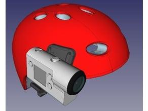 Sony FDR-X3000/X1000 helmet side mount