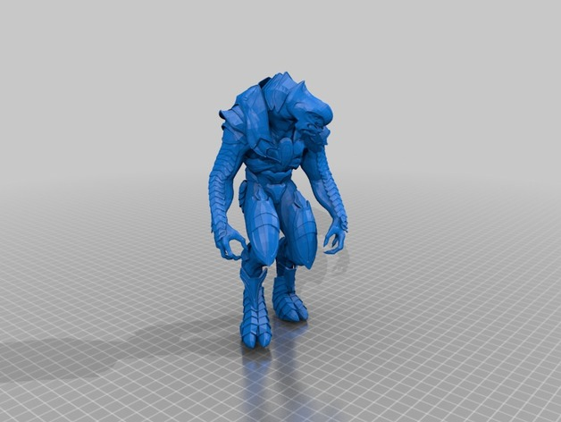 Halo 2 anniversary arbiter by limeisacrime - Thingiverse