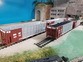 COAL HOPPER, HO SCALE