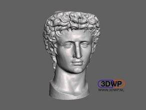 Head Of Roman Emperor Augustus 3D Scan