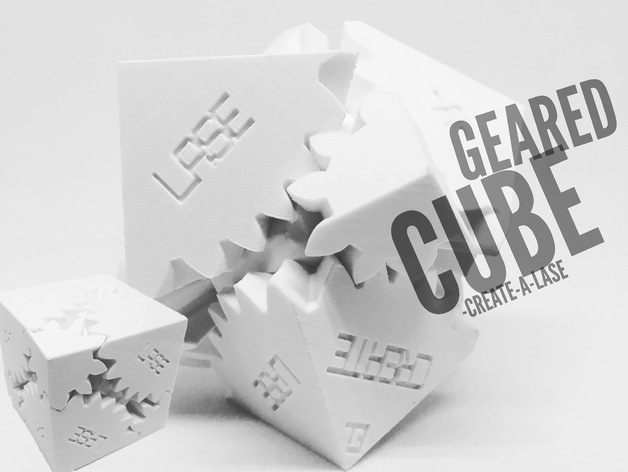 Create-A-Lase Three Cube Gears by timcreatealase - Thingiverse
