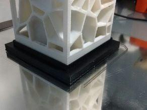 Base for Voronoi lamp